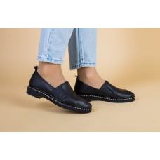 Женские туфли из черной кожи 37