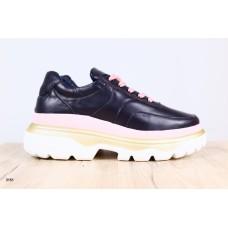 Женские кожаные кроссовки (в стиле баленсиага) 40